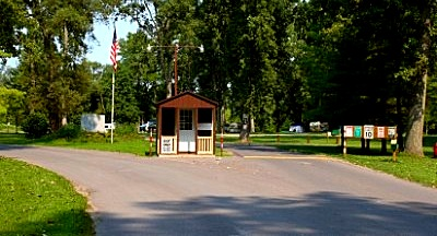 Myers Park Entrance Booth