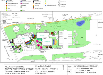 Village of Lansing Planting Plan