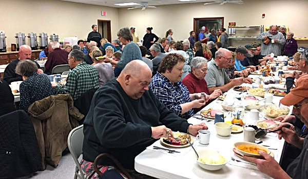 North Lansing Auxiliary Election Dinner and Supper.