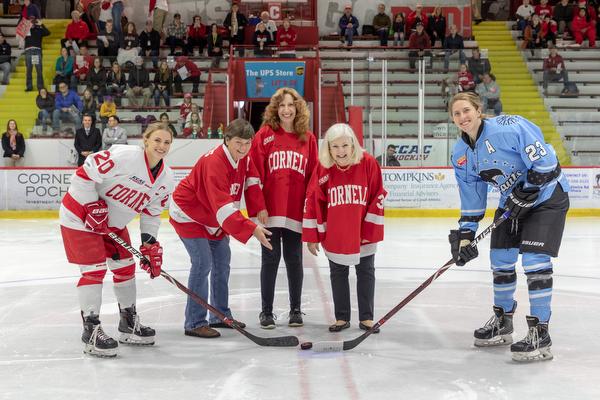 Women - Cornell Women's Ice Hockey Team Vs NWHL Buffalo Beauts