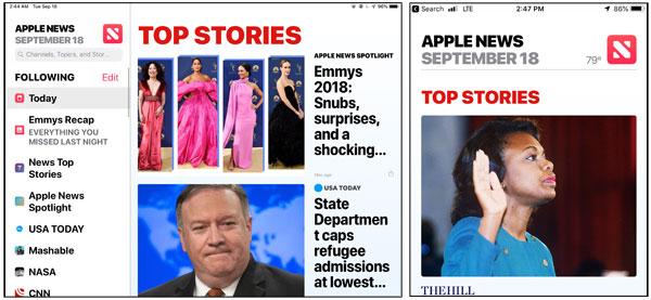 iOS 12 News App