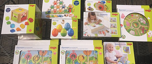 fltoys HABA toy donation