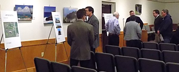 The NYSDOT held two open houses Wednesday to explain their new Warren Road location