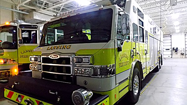 Lansing's Heavy Rescue Vehicle